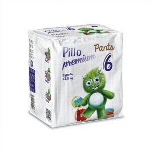 PANTS Pillo Extra Large Taglia 6 (+16 kg) – Confezione da 18 pannolini a mutandina
