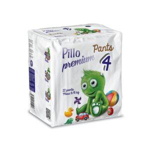 PANTS Pillo Maxi Taglia 4 (8-15 kg) – Confezione da 22 pannolini a mutandina